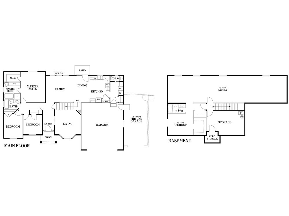 Gallatin copper creek homes for Copper creek homes floor plans