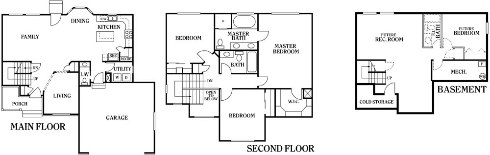 Jackson copper creek homes for Copper creek homes floor plans