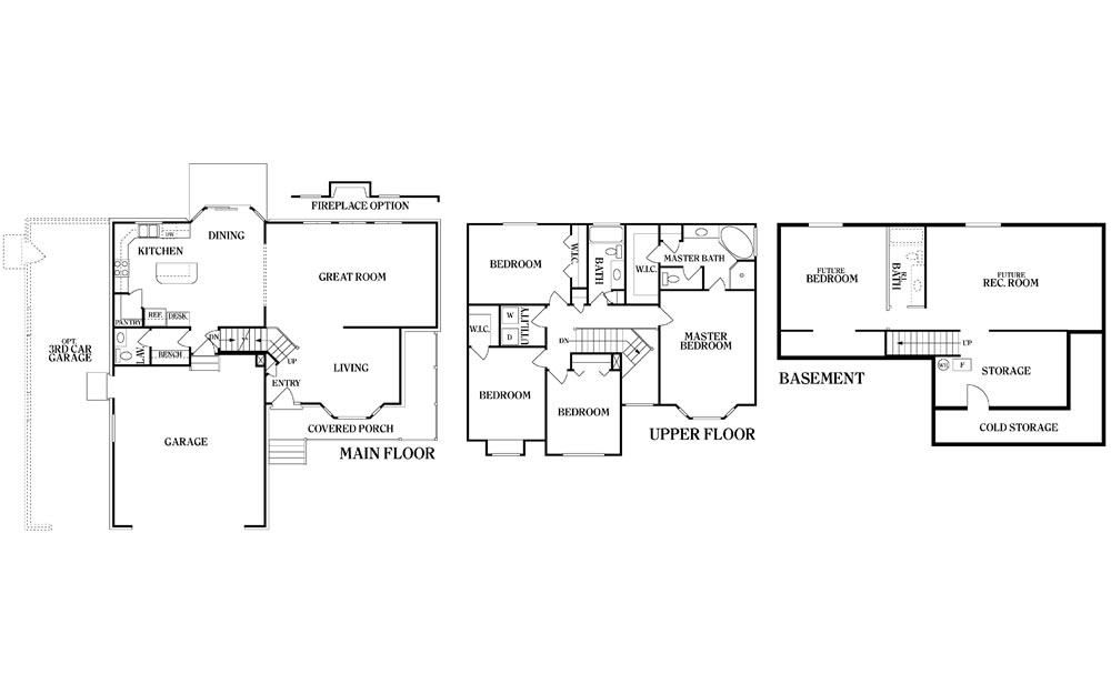 Teton copper creek homes for Copper creek homes floor plans