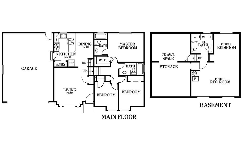 Uintah Floor Plan Main Floor