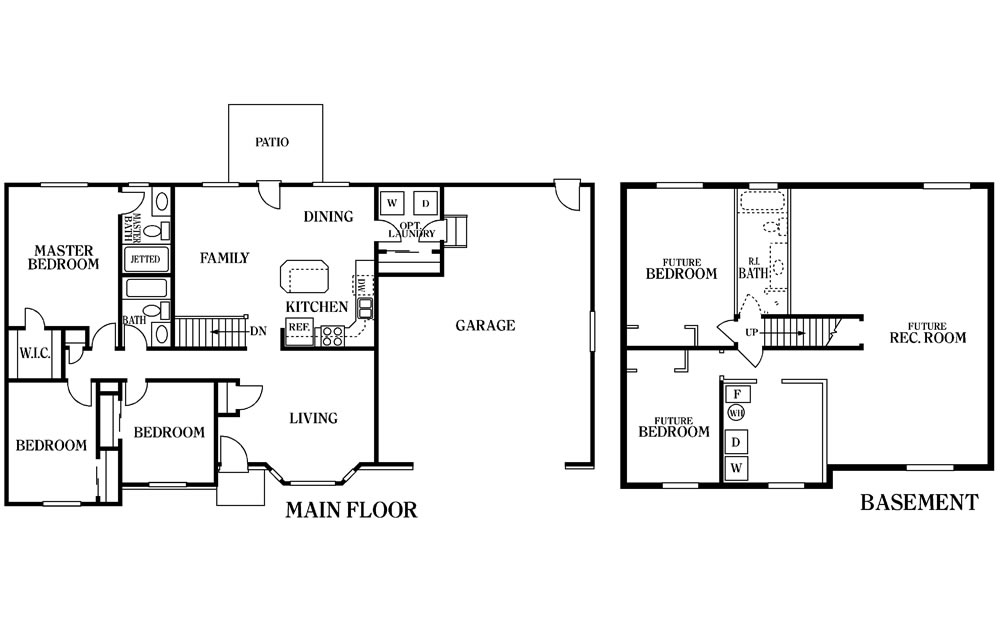 Yukon Floor Plan Main Floor